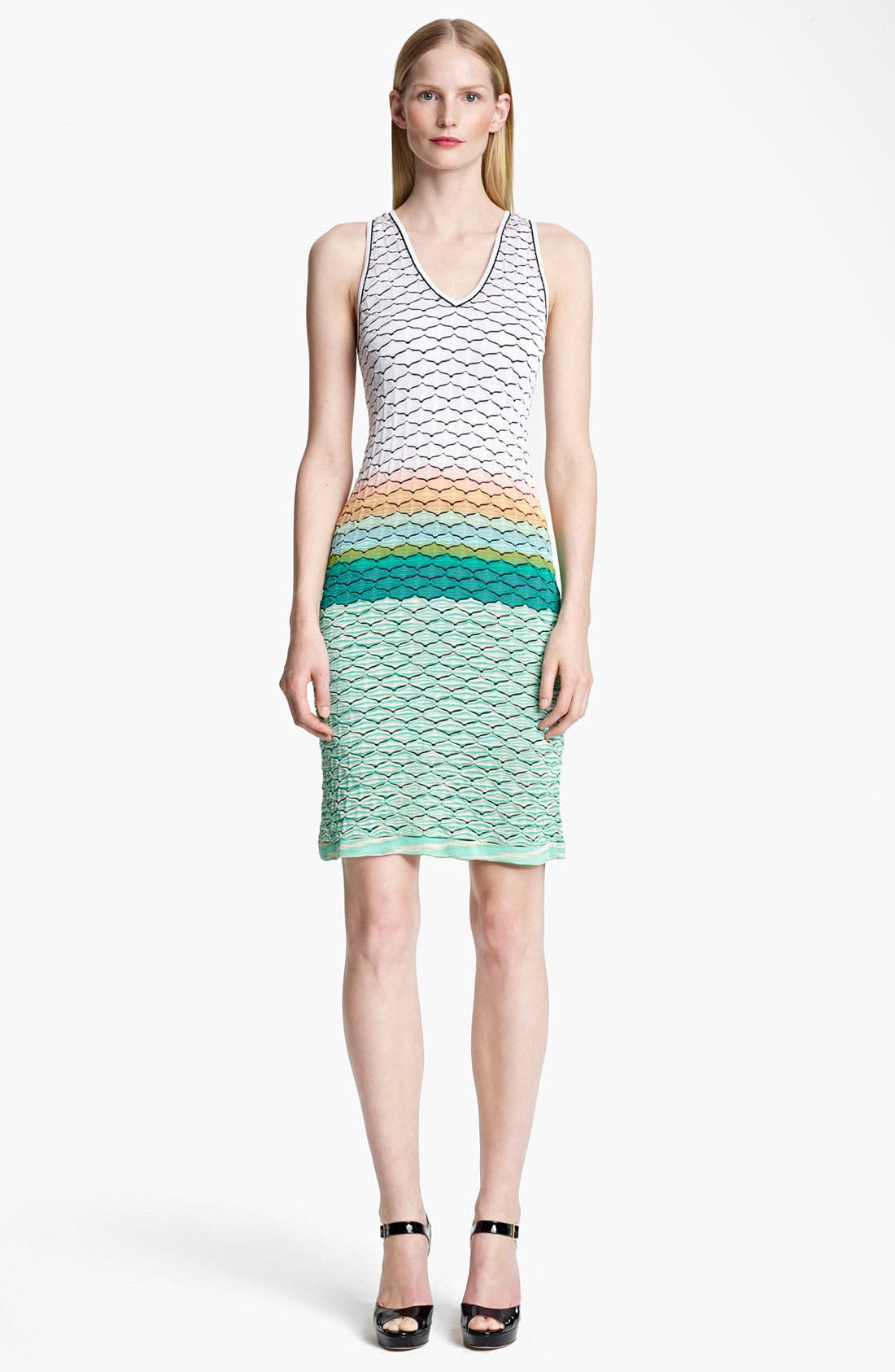 Alternate Image 1 Selected - Missoni Seagull Stitch Knit Dress
