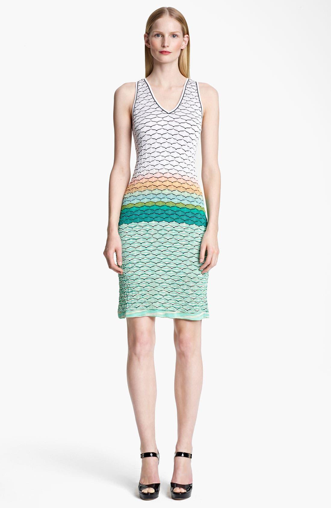 Main Image - Missoni Seagull Stitch Knit Dress
