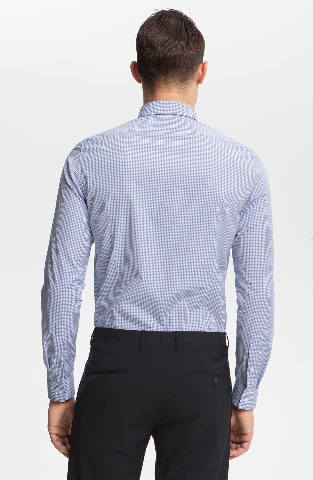 Alternate Image 2  - Jil Sander Check Dress Shirt