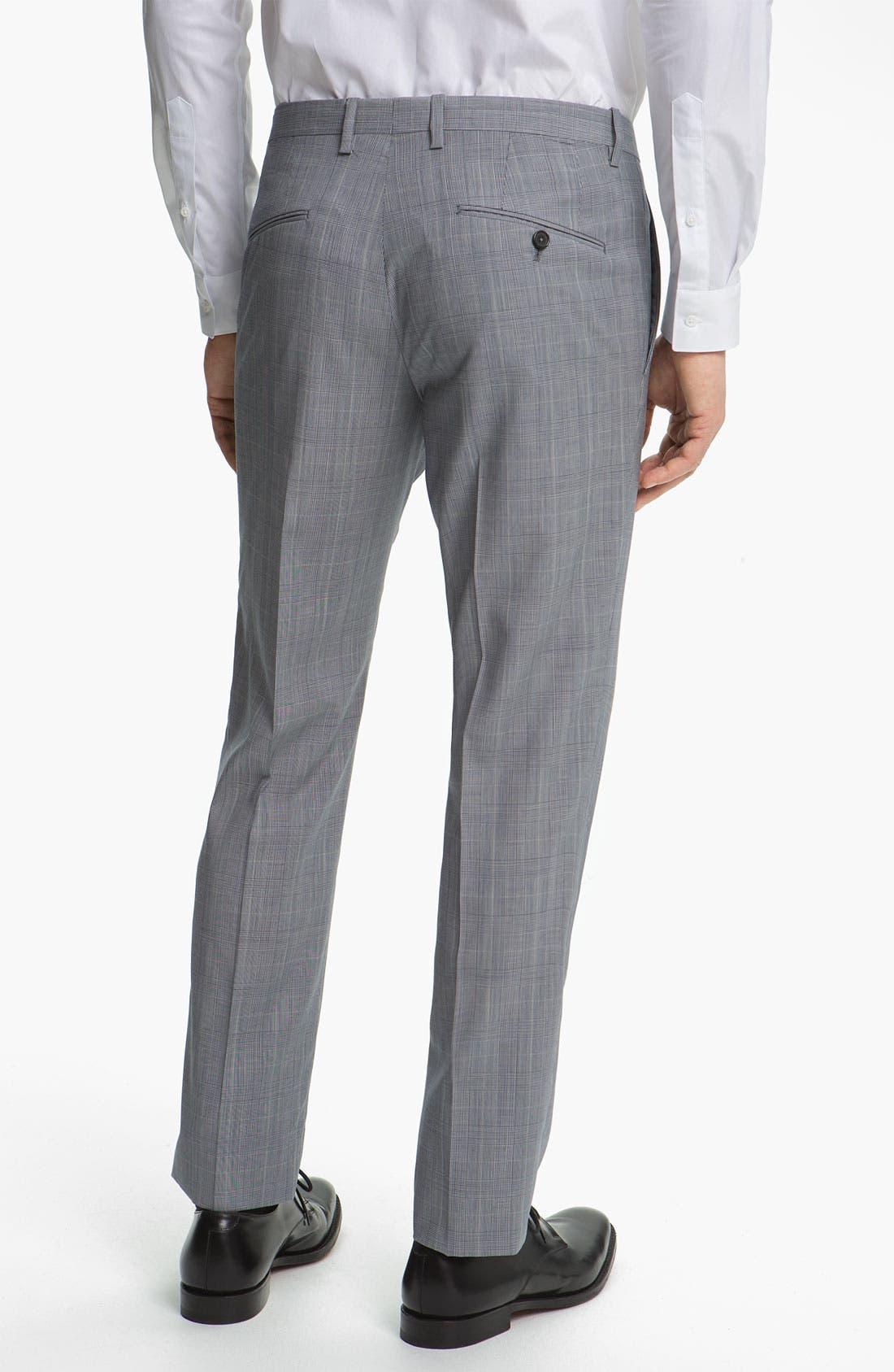 Alternate Image 5  - Jil Sander Glen Plaid Suit