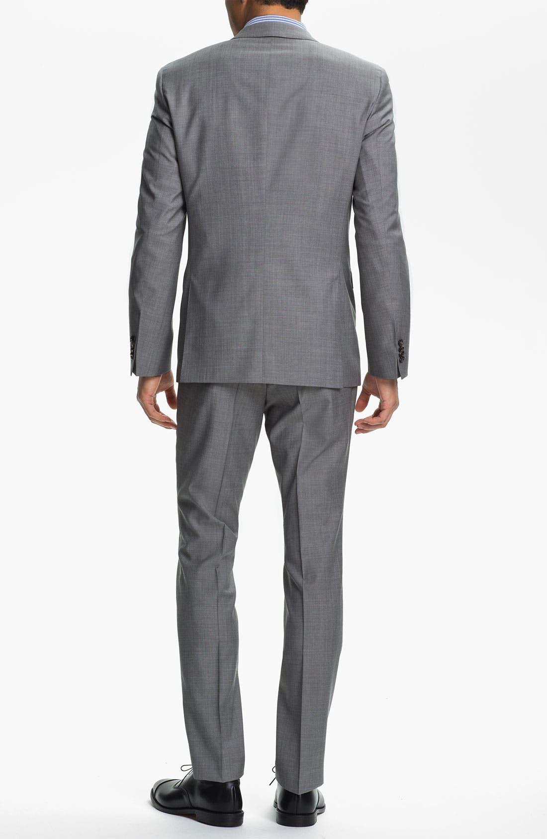 Alternate Image 3  - BOSS Black 'Ryan/Win' Extra Trim Fit Suit