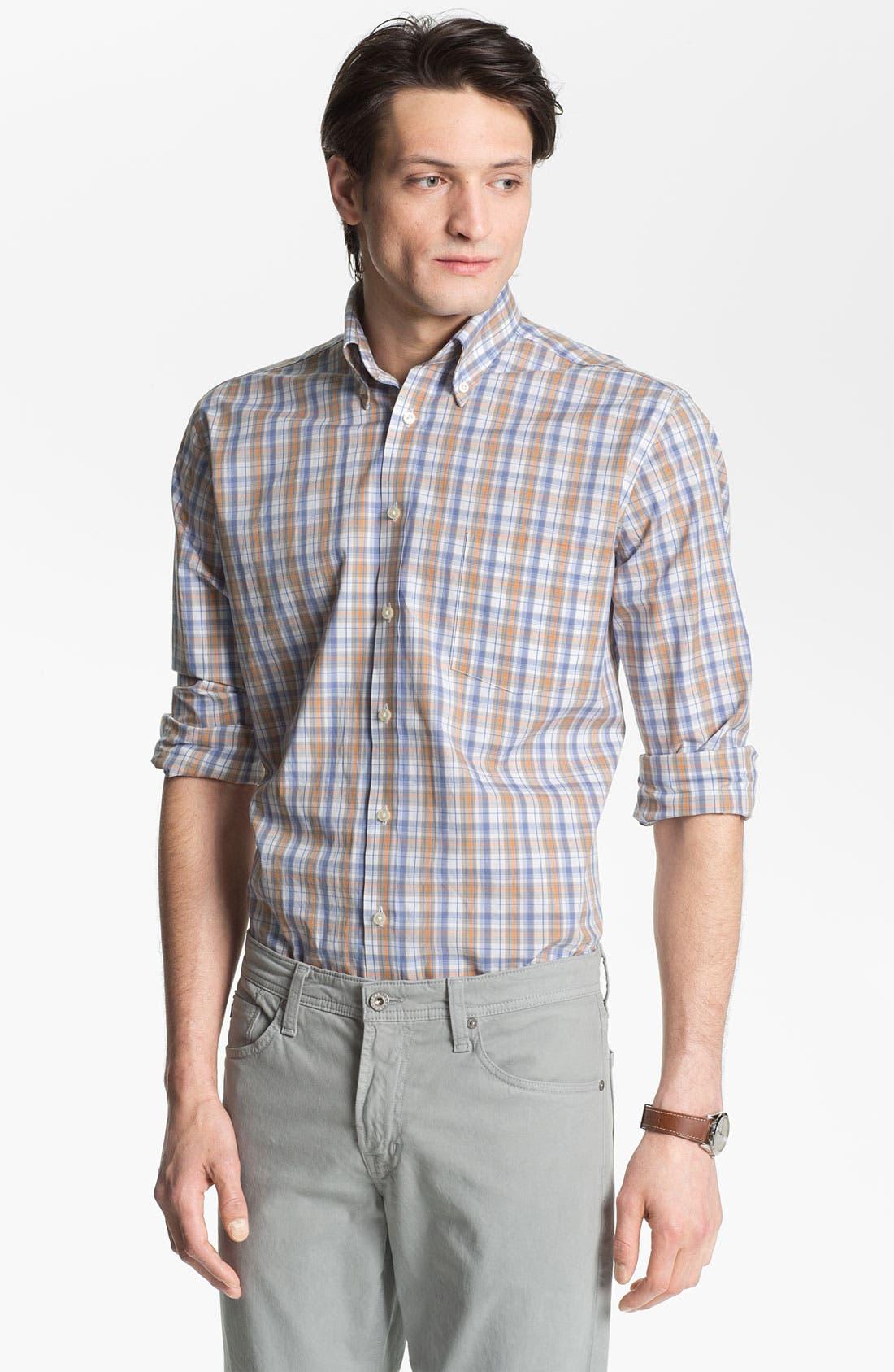 Alternate Image 1 Selected - Maker & Company Regular Fit Sport Shirt (Online Only)
