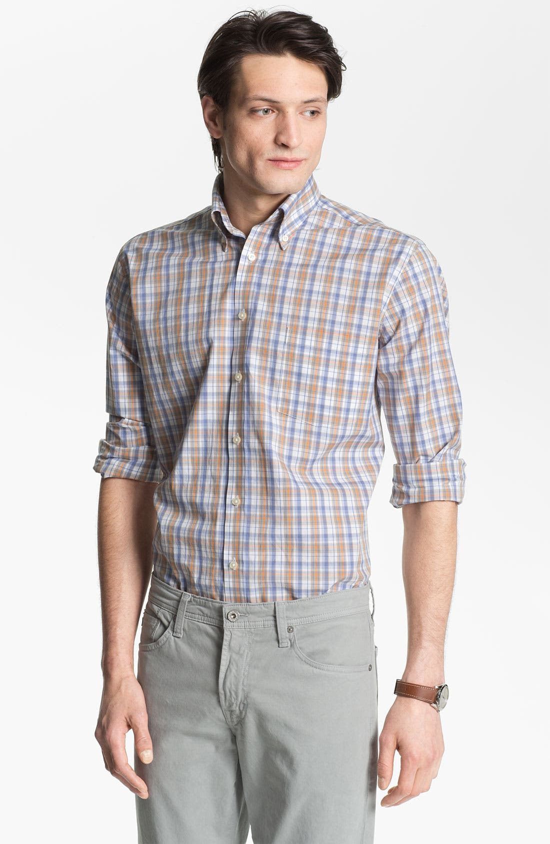 Main Image - Maker & Company Regular Fit Sport Shirt (Online Only)