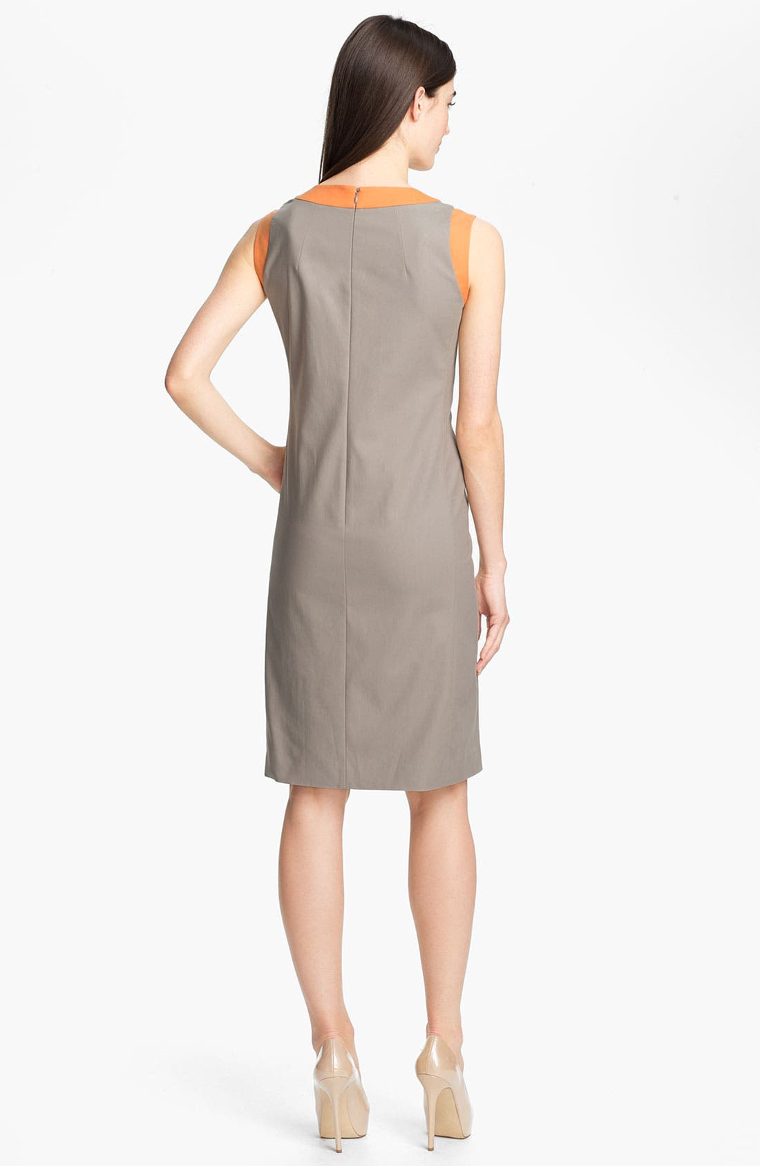 Alternate Image 2  - Lafayette 148 New York 'Maria - Metropolitan Stretch' Dress