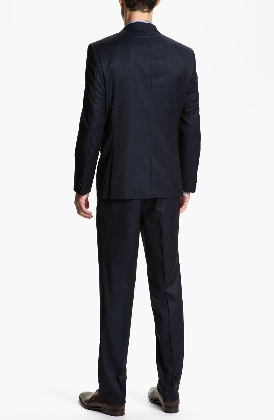 Alternate Image 3  - Sand Trim Fit Wool Suit