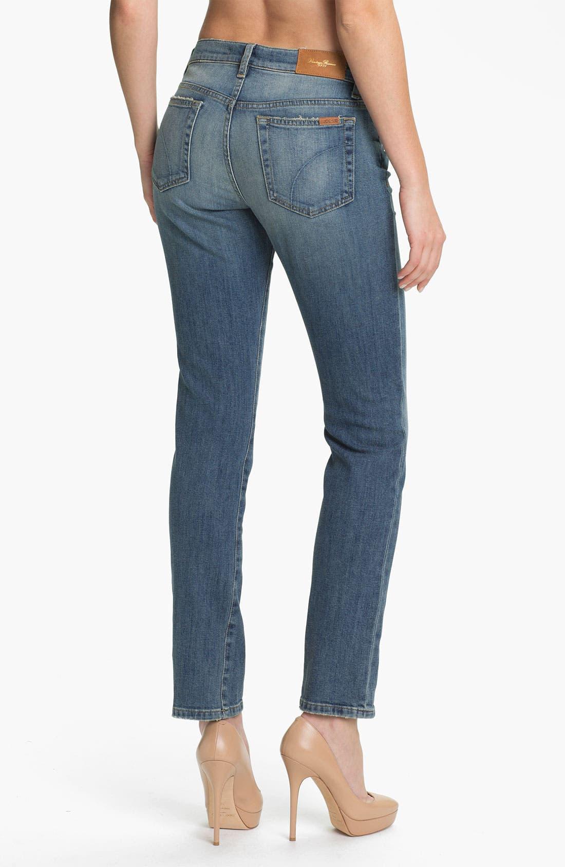 Alternate Image 2  - Joe's 'Easy Slim' Vintage Wash Jeans (Tess)