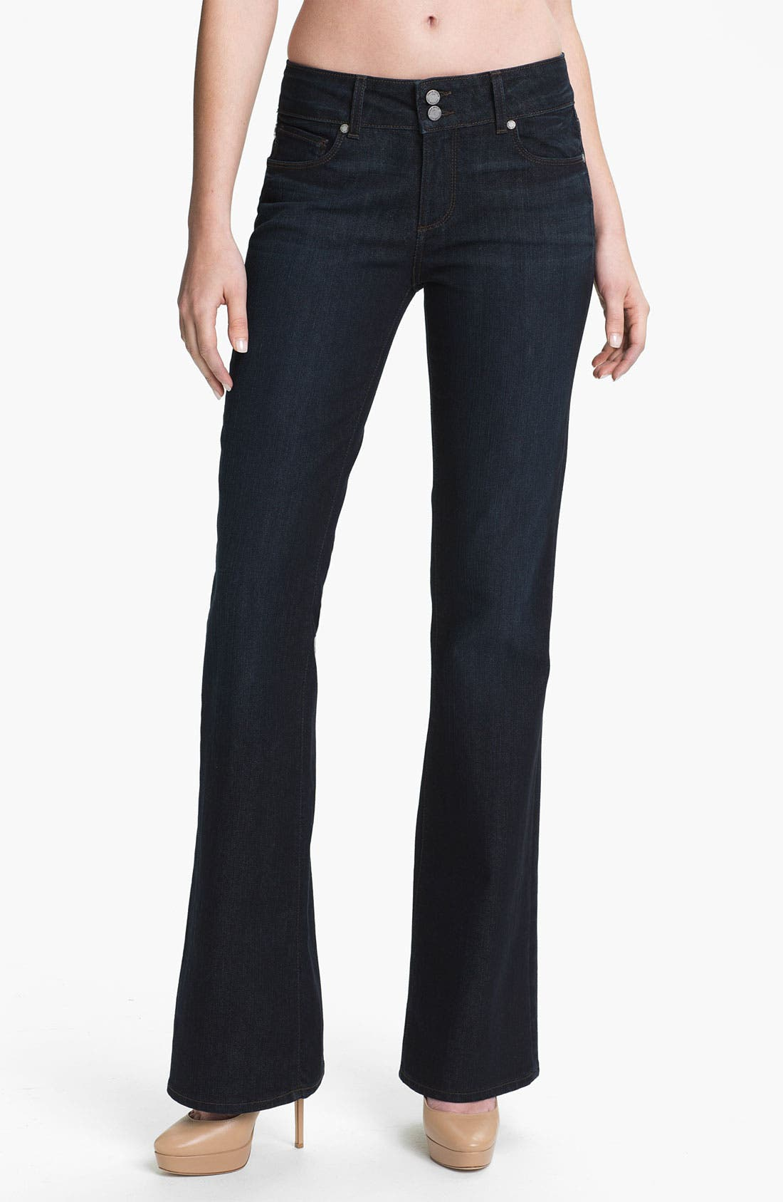 Alternate Image 1 Selected - Paige Denim 'Hidden Hills' Bootcut Jeans (Nocturnal)