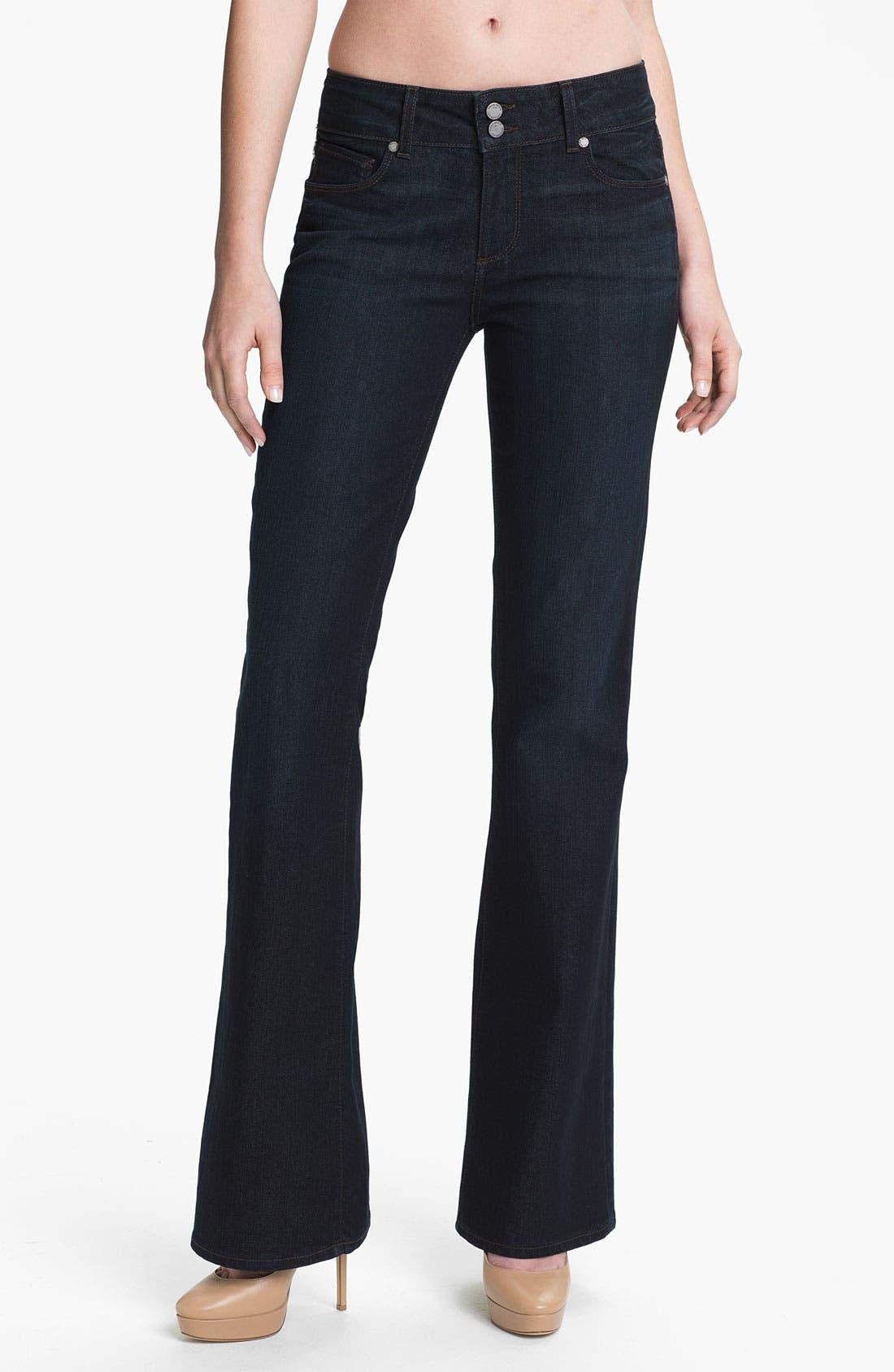 Main Image - Paige Denim 'Hidden Hills' Bootcut Jeans (Nocturnal)