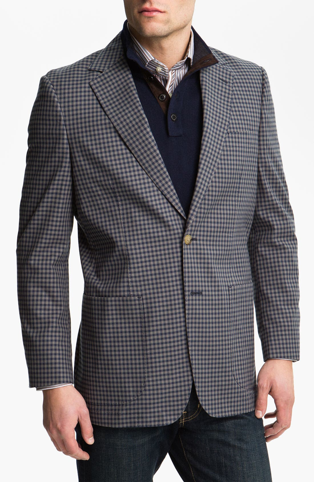 Main Image - Thomas Dean Cotton Sportcoat