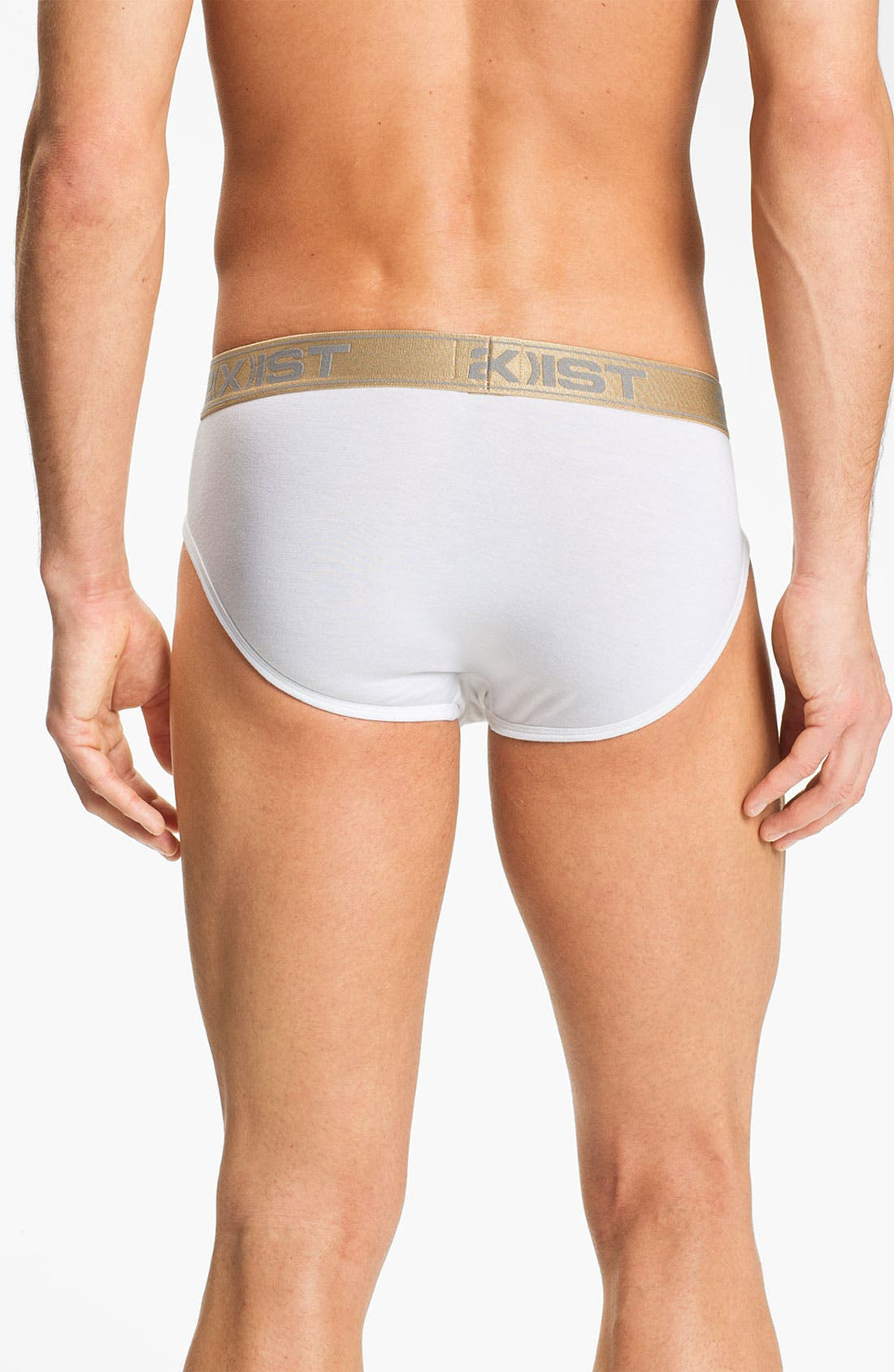 Alternate Image 2  - 2(x)ist 'Gold' Contour Pouch Briefs