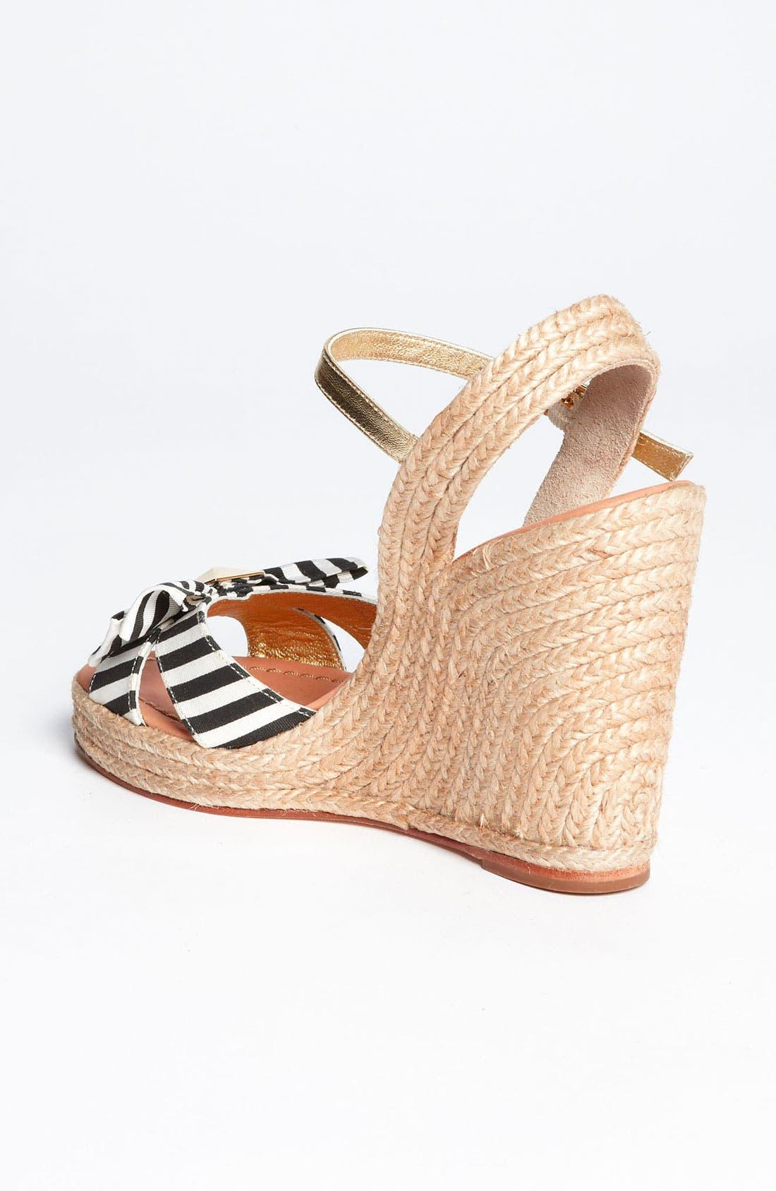 Alternate Image 2  - kate spade new york 'carmelita' wedge sandal