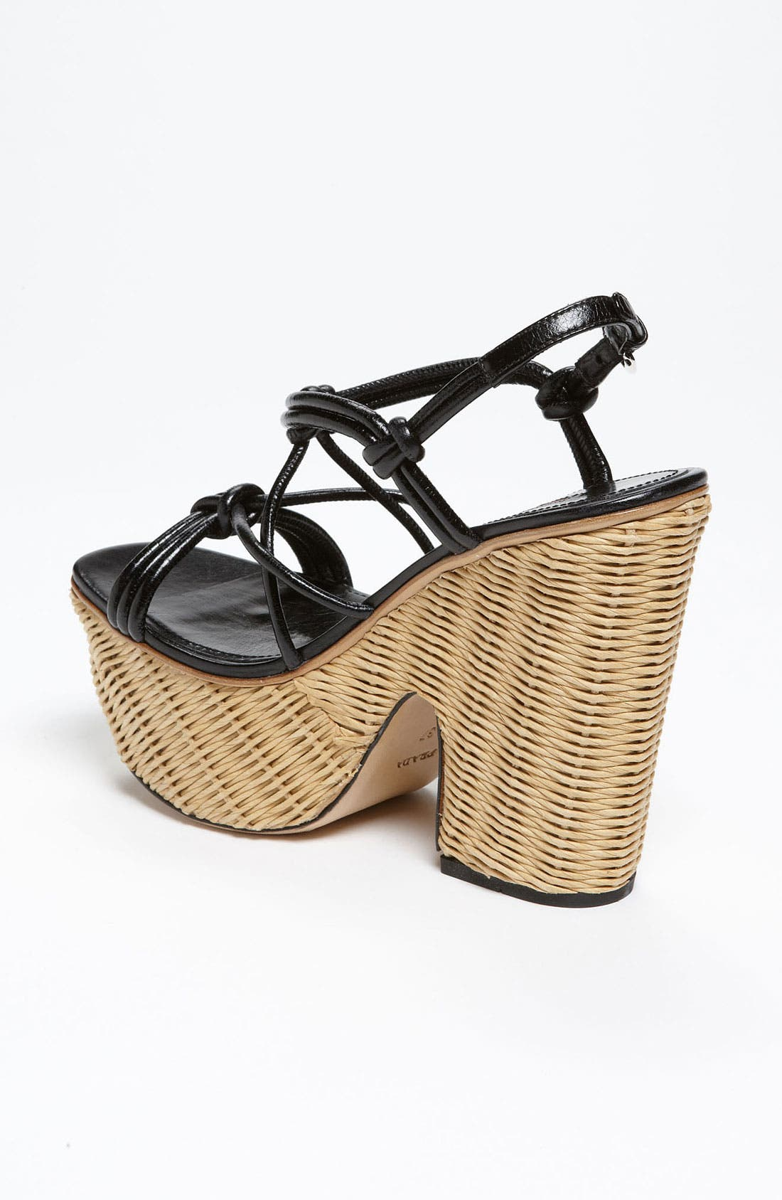Alternate Image 2  - Prada Wicker Sandal