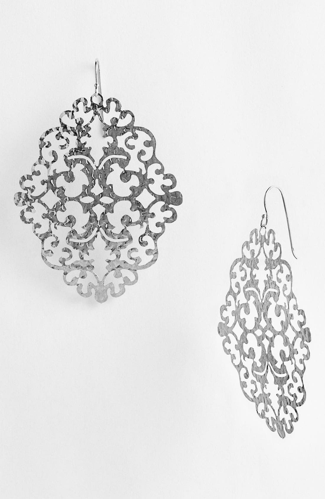 Alternate Image 1 Selected - Argento Vivo 'Bauble Bar' Drop Earrings (Nordstrom Exclusive)
