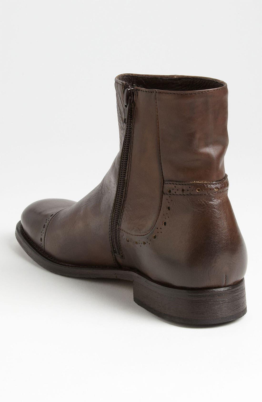 Alternate Image 2  - Bacco Bucci 'Dafne' Cap Toe Boot (Men)