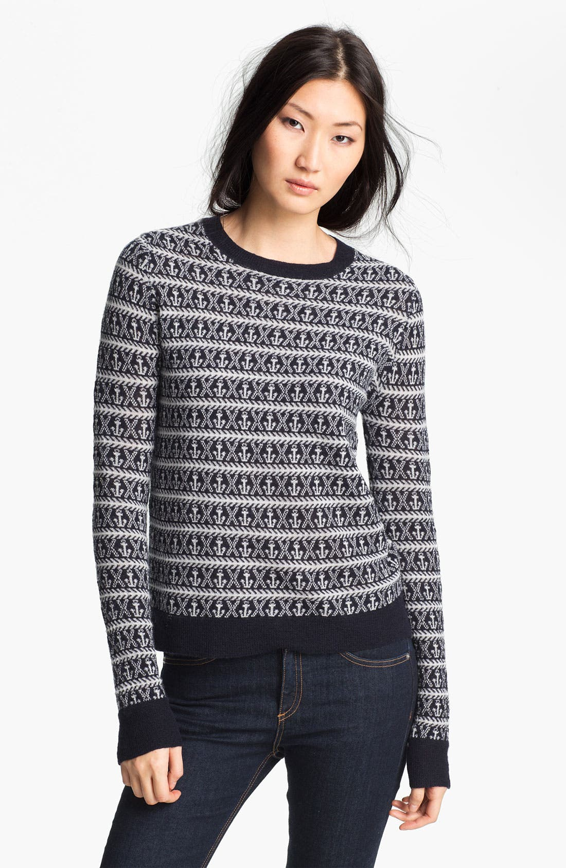 Alternate Image 1 Selected - A.L.C. Anchor Crewneck Sweater