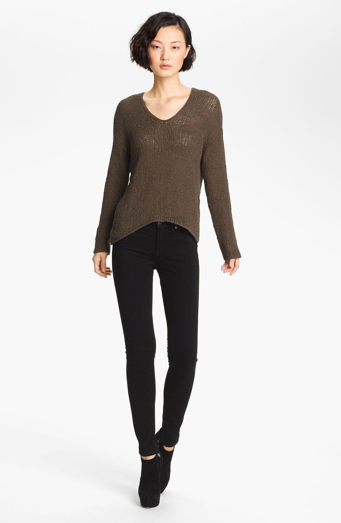 Alternate Image 1 Selected - HELMUT Helmut Lang Asymmetrical Pullover Sweater