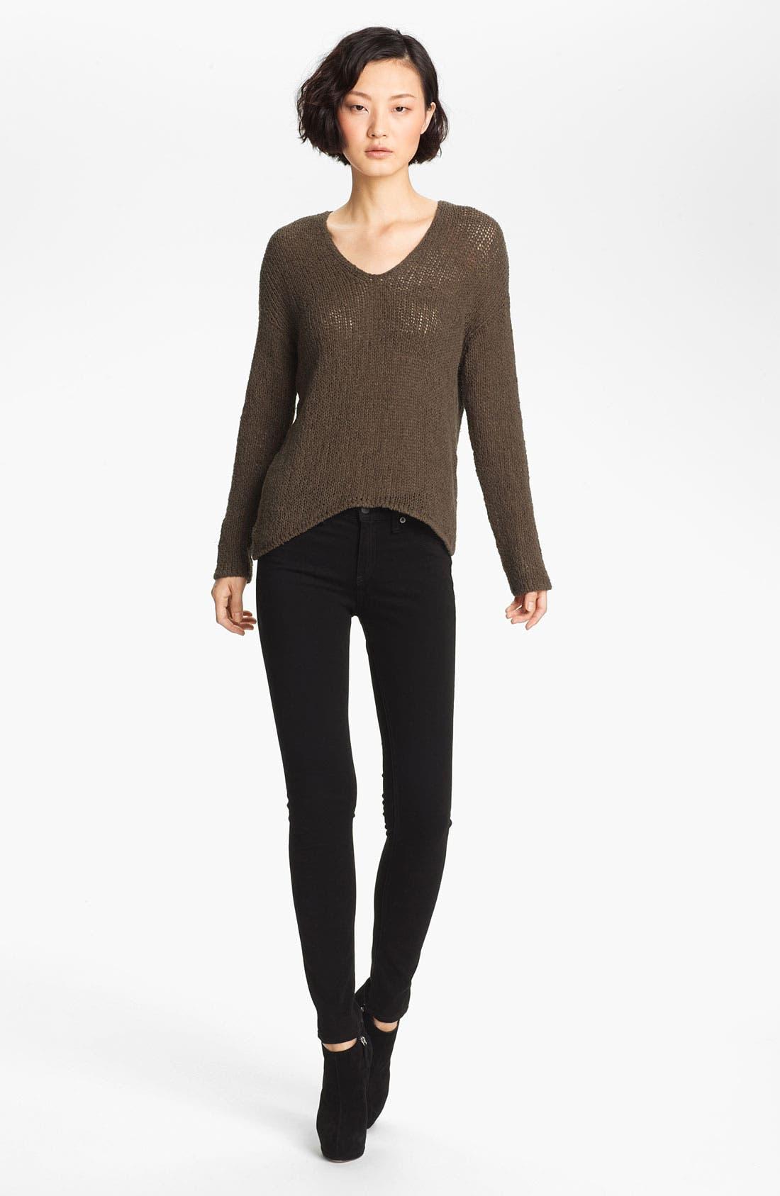 Main Image - HELMUT Helmut Lang Asymmetrical Pullover Sweater