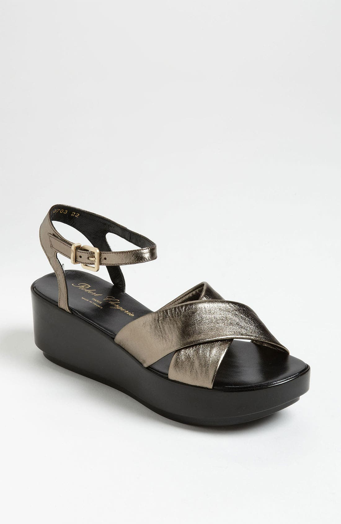 Alternate Image 1 Selected - Robert Clergerie 'Pima' Wedge Sandal