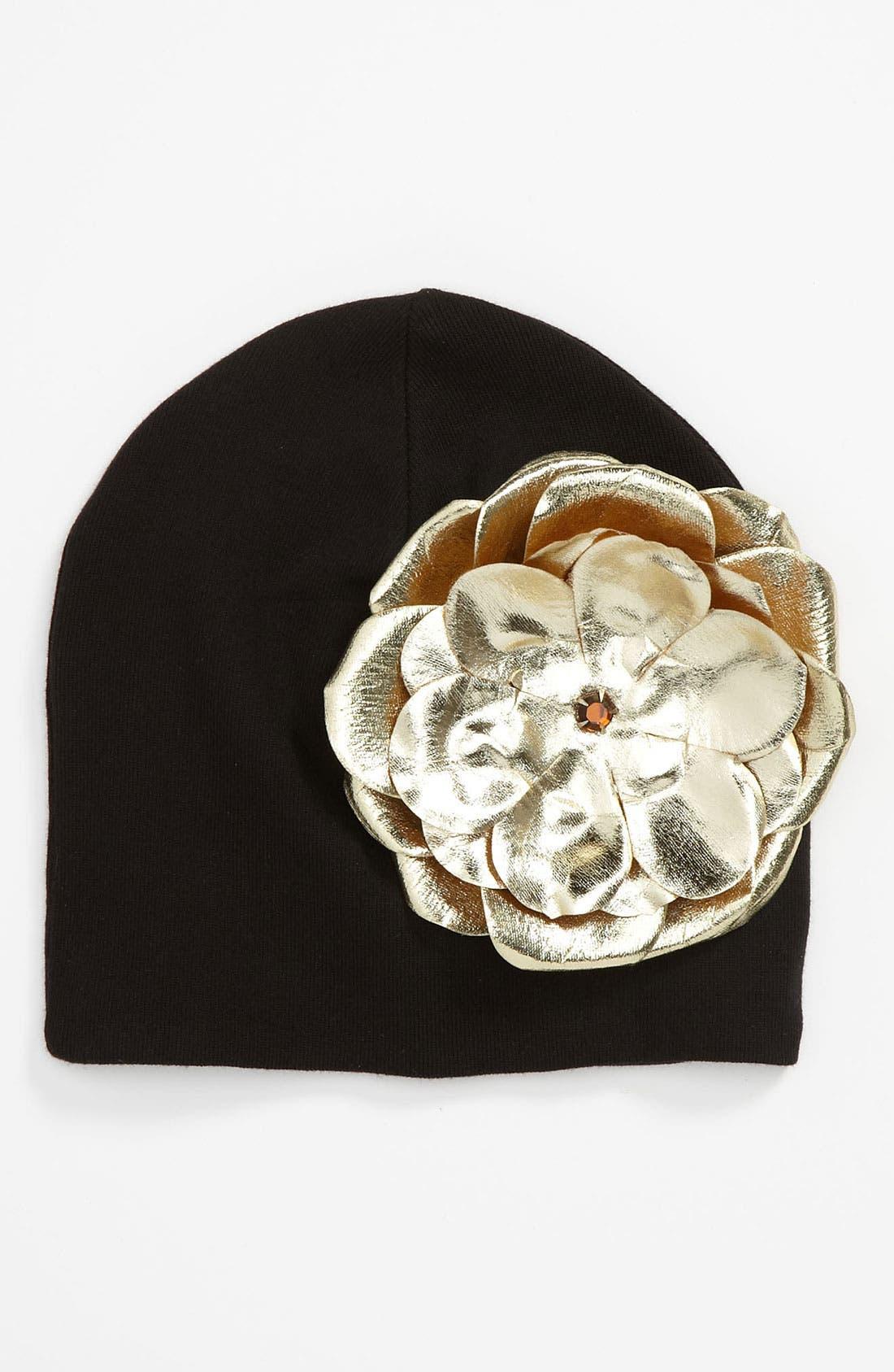 Alternate Image 1 Selected - Jamie Rae Hats Appliqué Hat (Toddler)