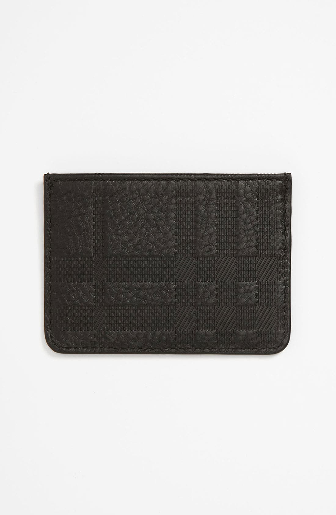 Alternate Image 2  - Burberry Leather Credit Card Case
