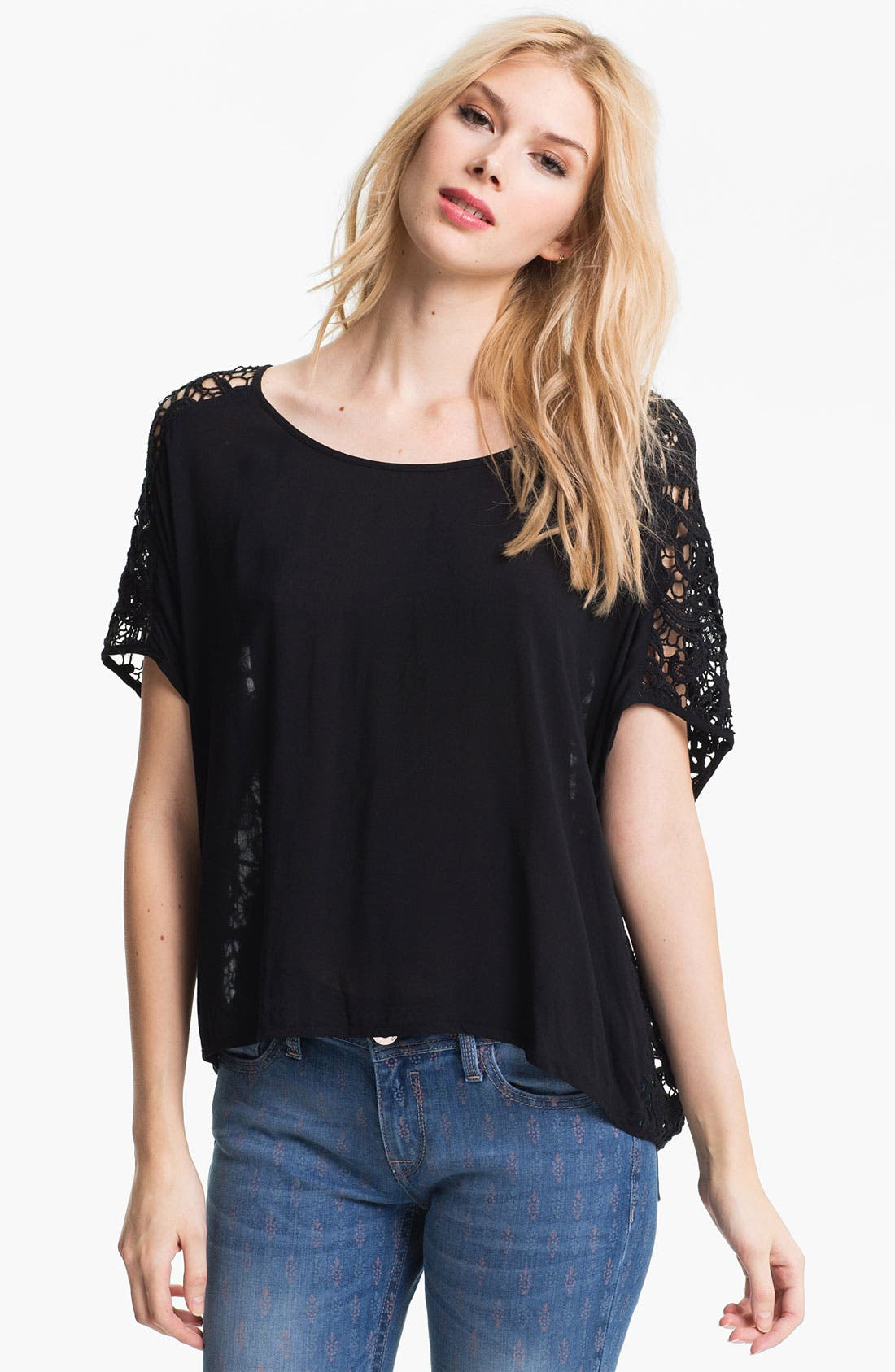 Alternate Image 1 Selected - Ella Moss 'Josephina' Dolman Blouse