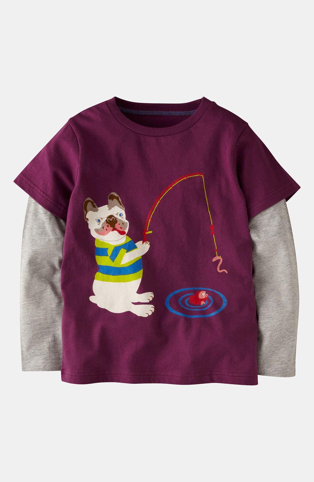 Alternate Image 1 Selected - Mini Boden 'Animal Adventure' T-Shirt (Little Boys & Big Boys)