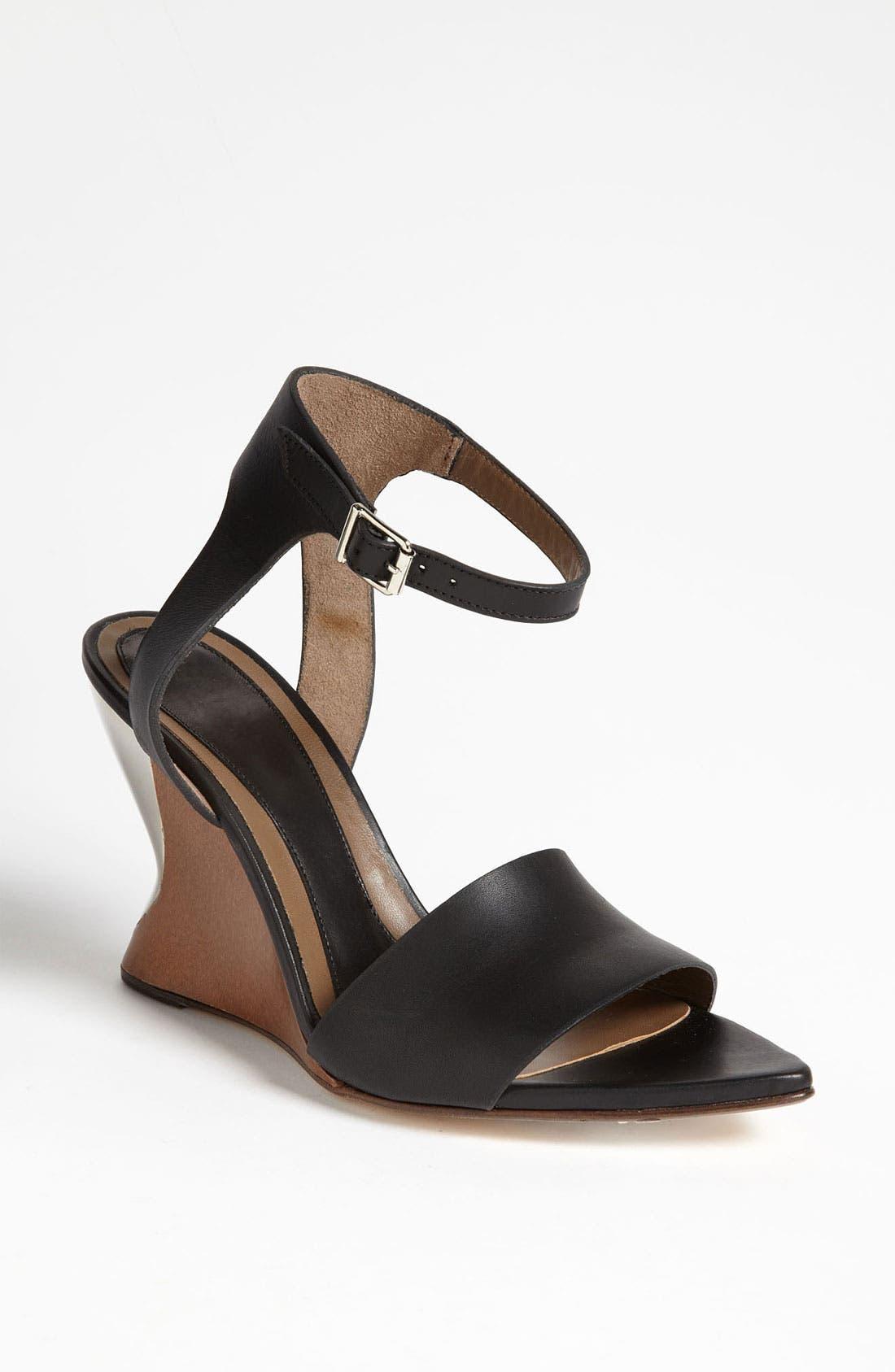 Alternate Image 1 Selected - Marni Wood Wedge Sandal