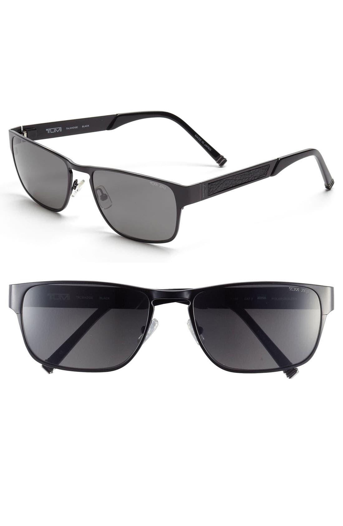 Main Image - Tumi 'Talmadge' 57mm Polarized Sunglasses
