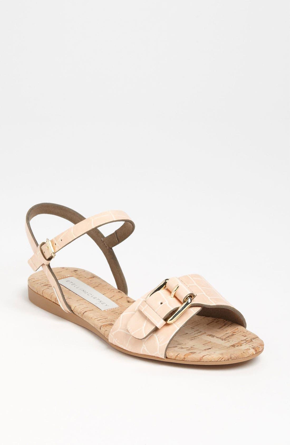 Alternate Image 1 Selected - Stella McCartney Flat Sandal