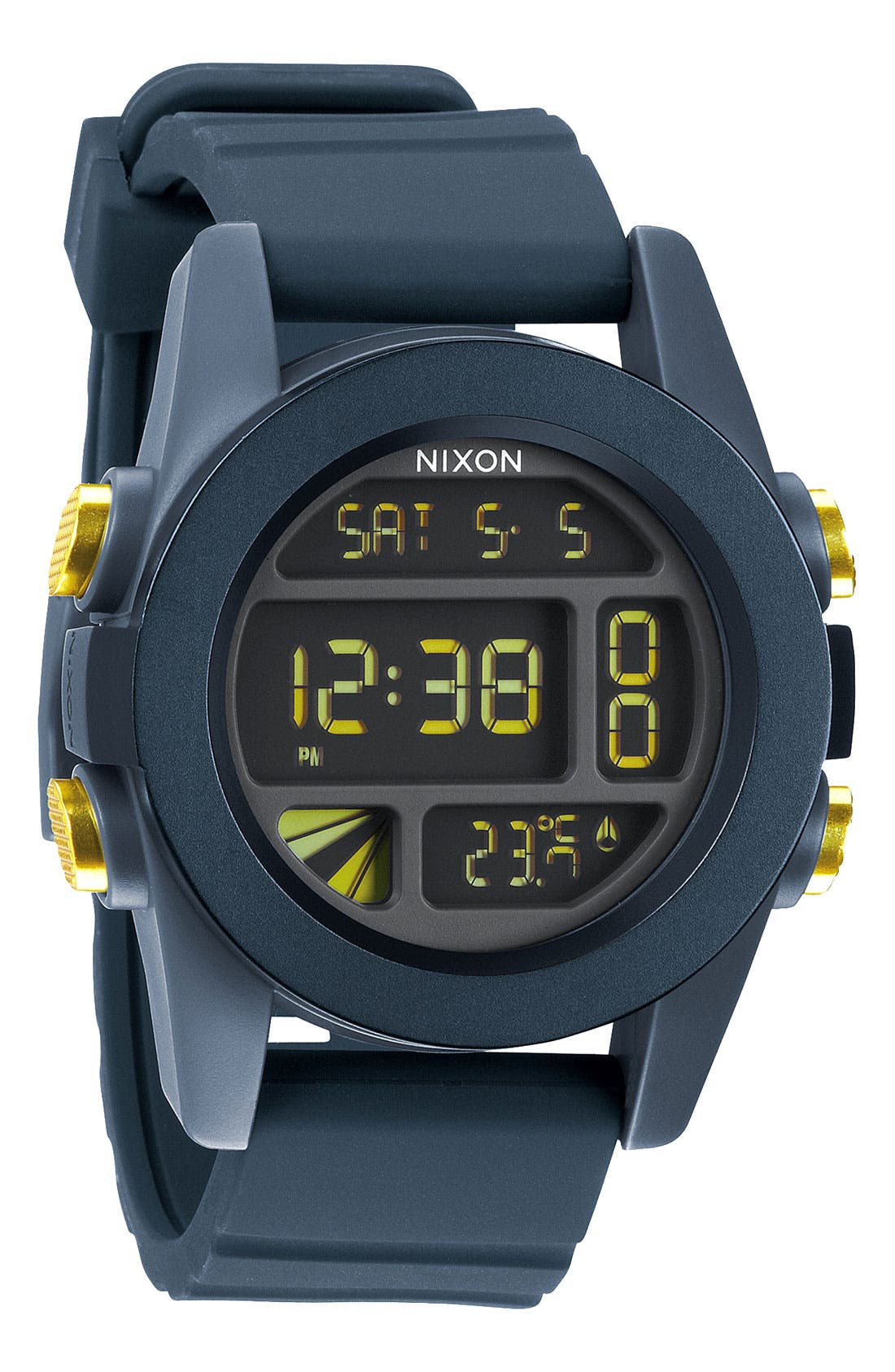 Main Image - Nixon 'The Anodaze Unit' Digital Watch, 49mm