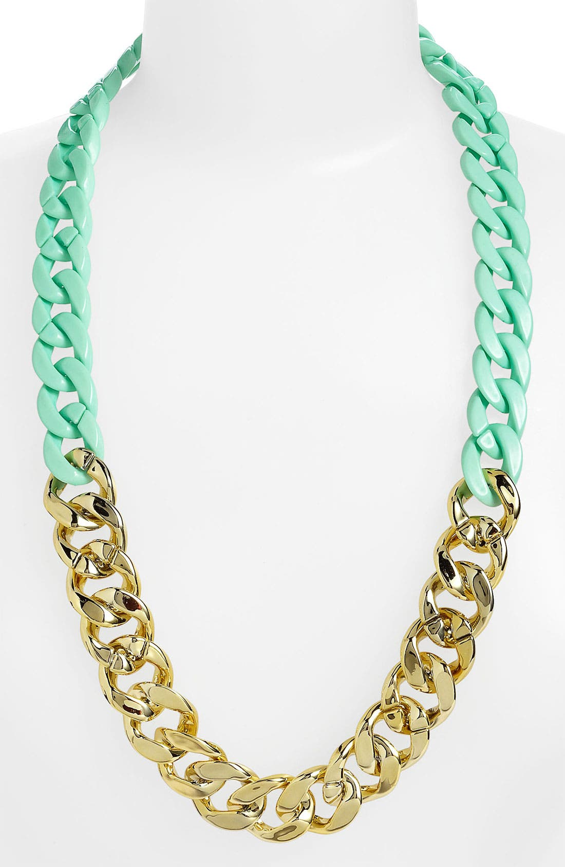 Alternate Image 1 Selected - BP. Two Tone Chain Statement Necklace