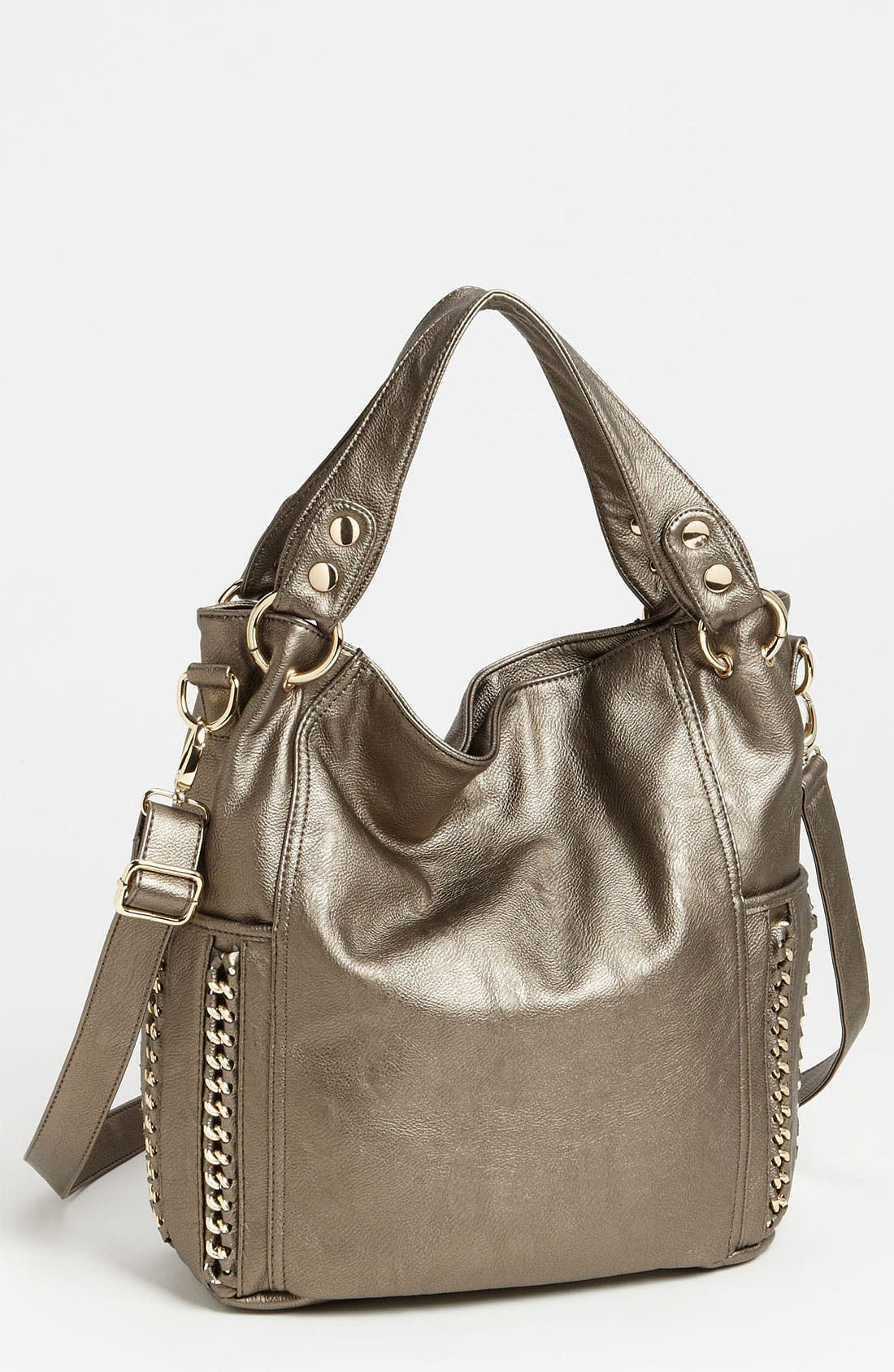 Convertible Tote,                         Main,                         color, Pewter