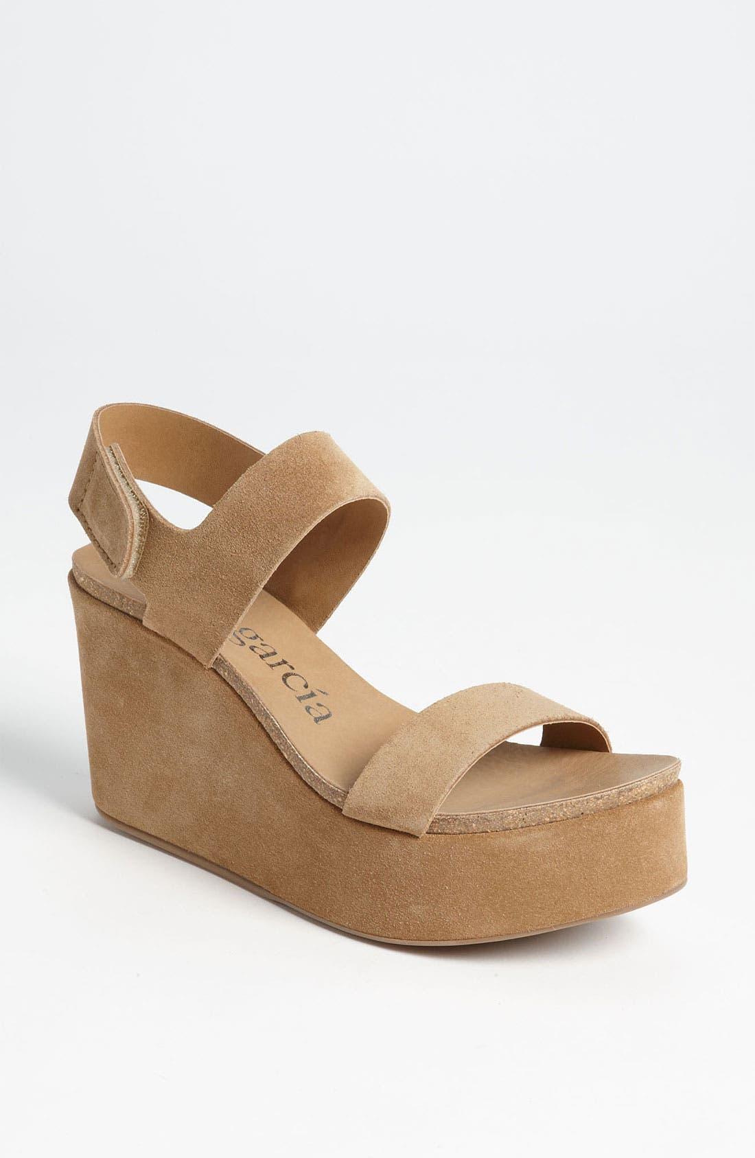 Alternate Image 1 Selected - Pedro Garcia 'Dakota' Wedge Sandal (Exclusive Color)