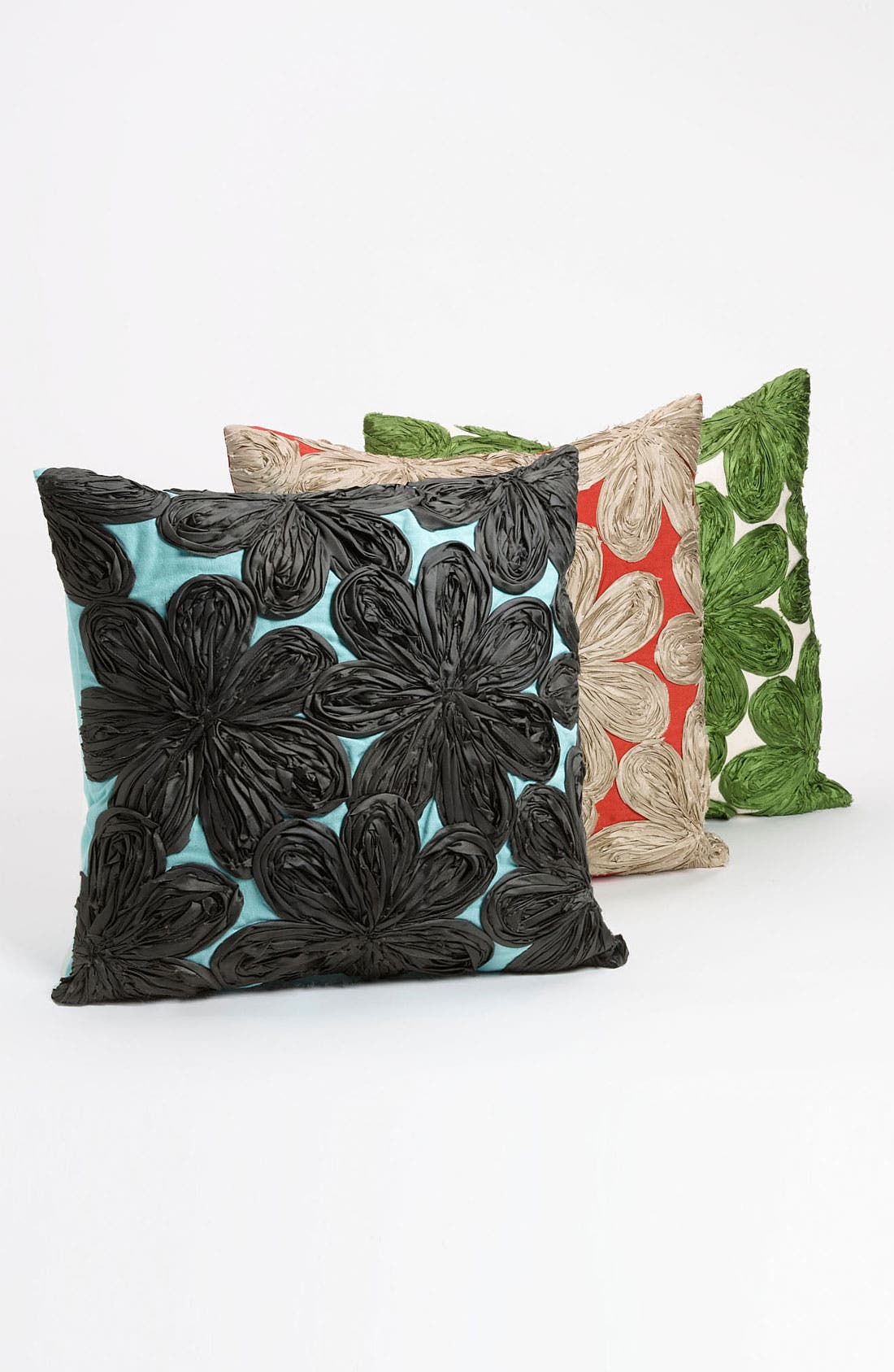 Alternate Image 1 Selected - Nordstrom at Home Floral Appliqué Pillow Cover