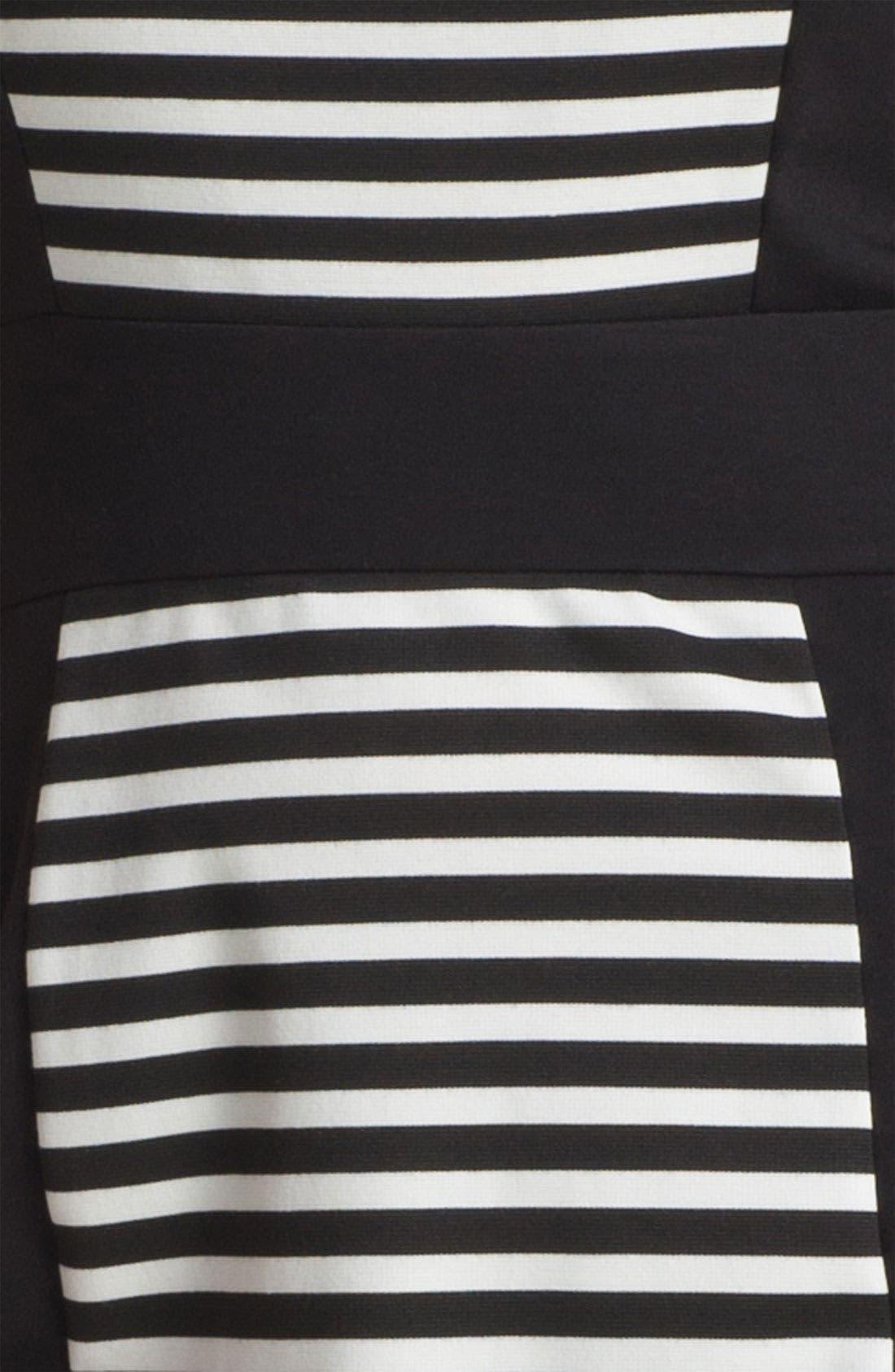 Alternate Image 3  - Calvin Klein Sleeveless Stripe Dress