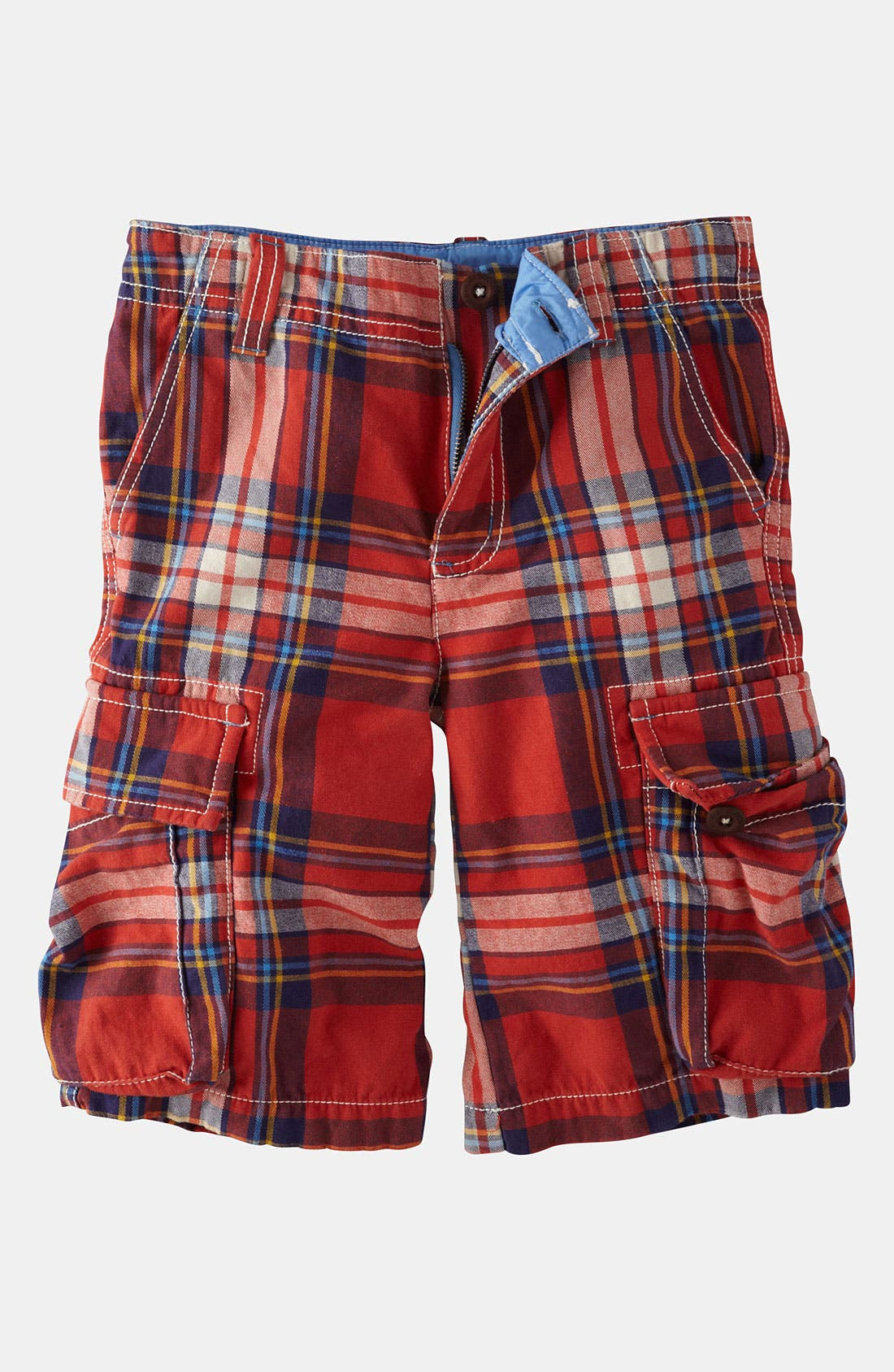 Alternate Image 1 Selected - Mini Boden Cargo Shorts (Little Boys & Big Boys)