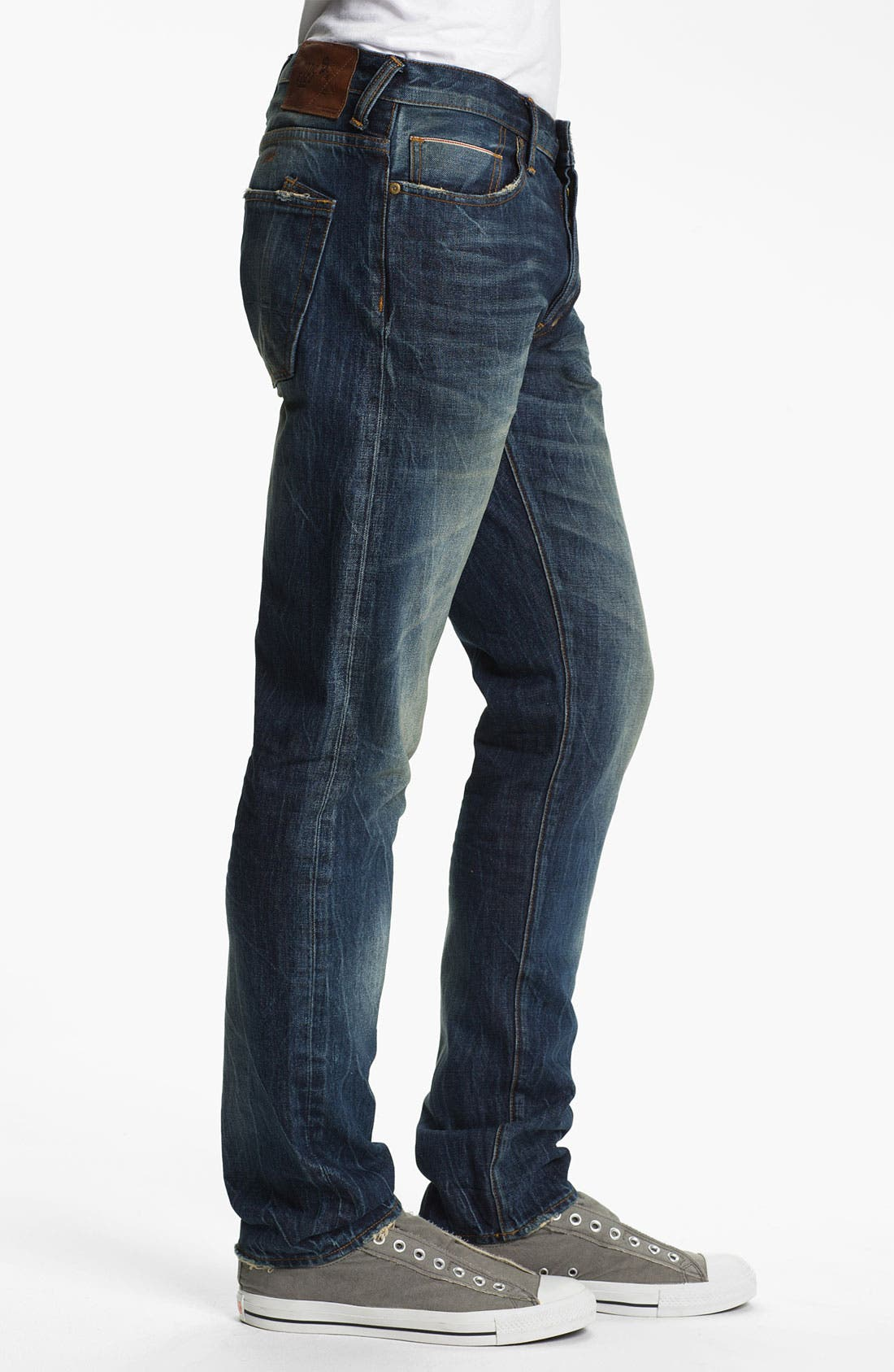 Alternate Image 3  - PRPS Barracuda Straight Leg Selvedge Jeans (1 Year)
