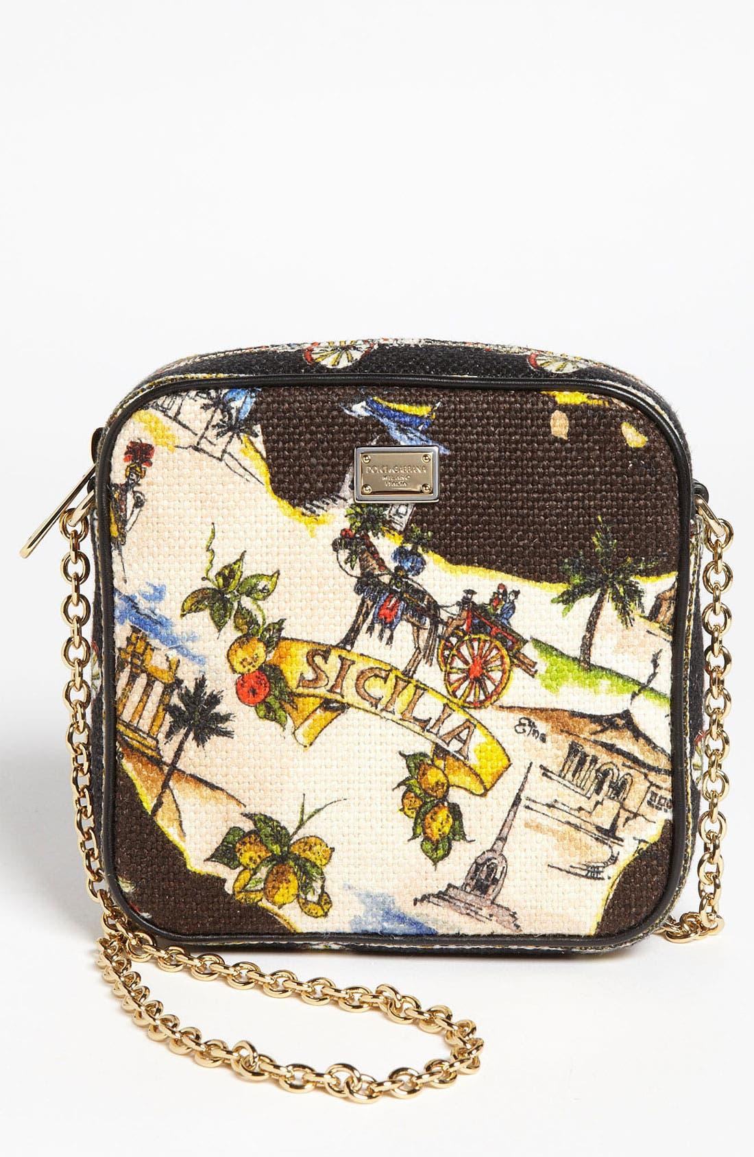 Alternate Image 1 Selected - Dolce&Gabbana 'Miss Glam - Sicily' Crossbody Bag