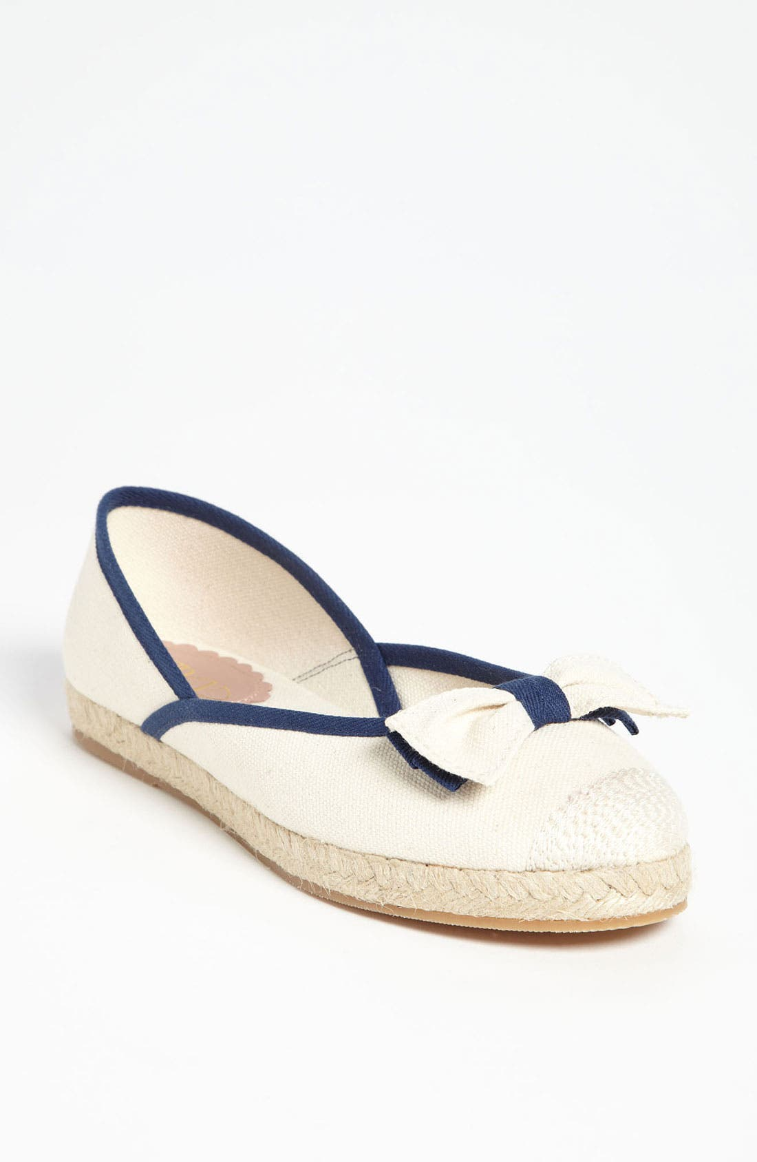 Alternate Image 1 Selected - RED Valentino Canvas Flat