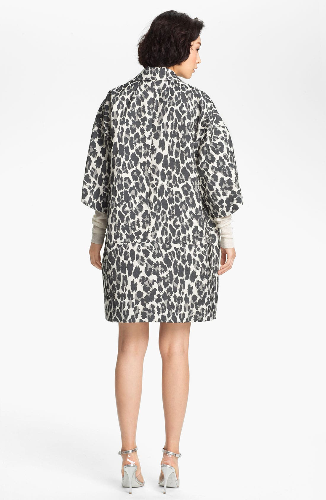 Alternate Image 4  - Tracy Reese Jacquard Coat