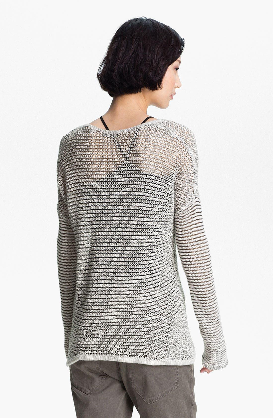 Alternate Image 3  - HELMUT Helmut Lang Open Knit Sweater