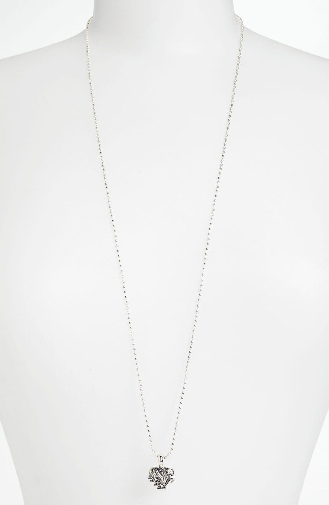 'Hearts of Lagos - Chicago' Long Pendant Necklace,                         Main,                         color, Heart Of Chicago