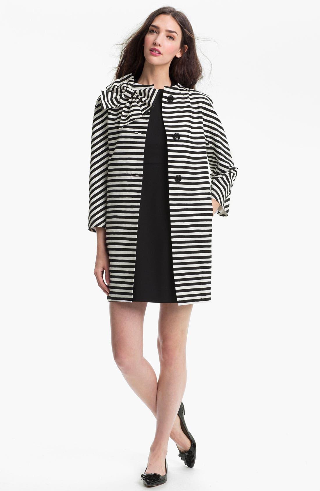 Alternate Image 1 Selected - kate spade new york 'dorothy' boxy coat