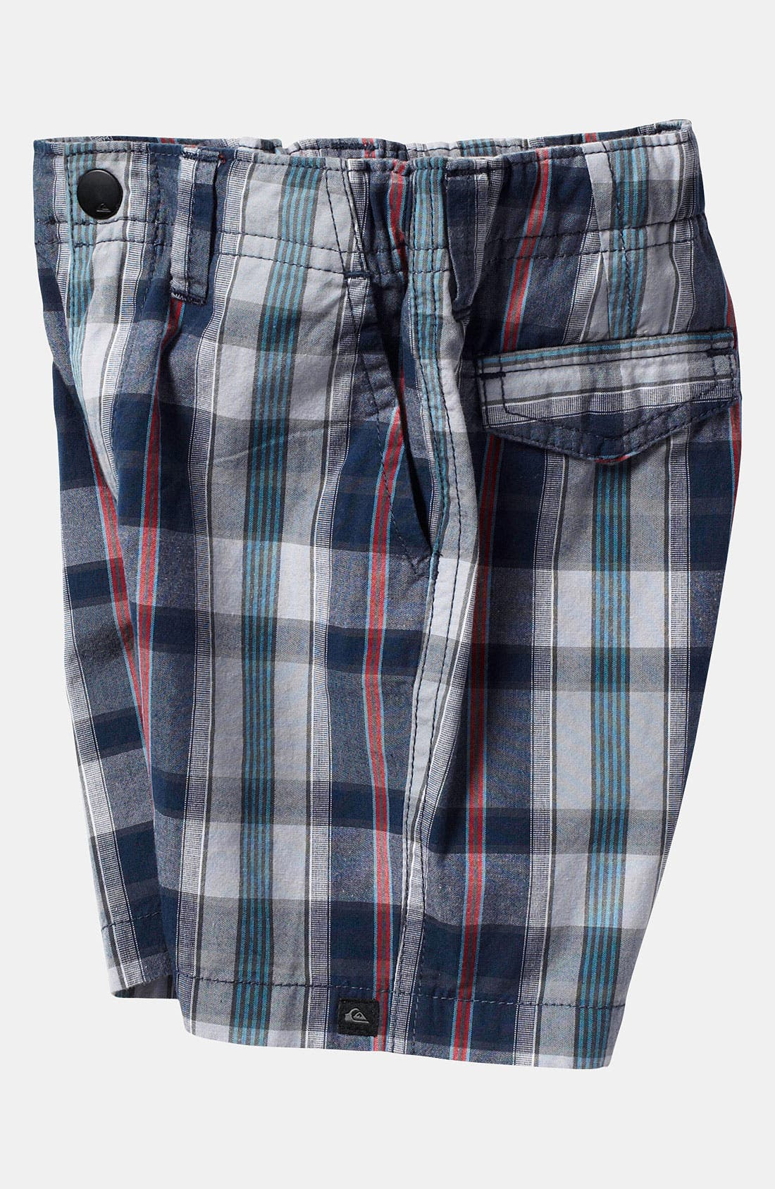 Alternate Image 2  - Quiksilver 'Bookend' Plaid Shorts (Toddler)