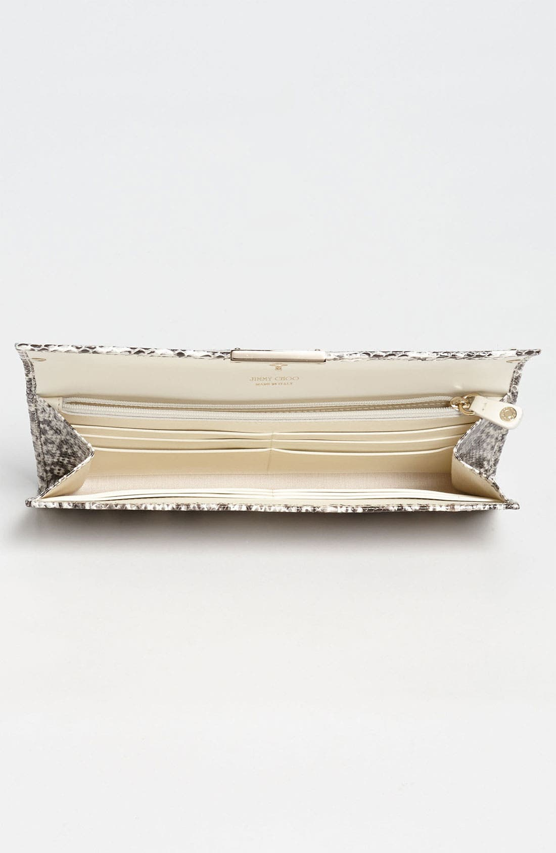 Alternate Image 3  - Jimmy Choo 'Reese' Genuine Snakeskin Clutch
