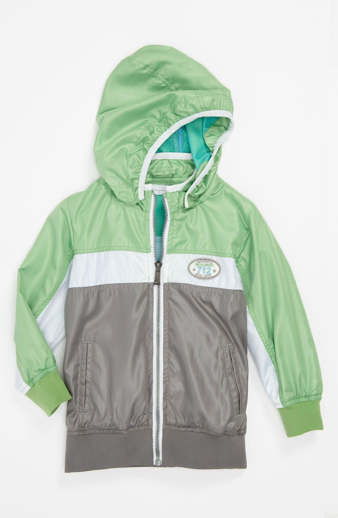 Main Image - Pumpkin Patch Hooded Jacket (Infant)
