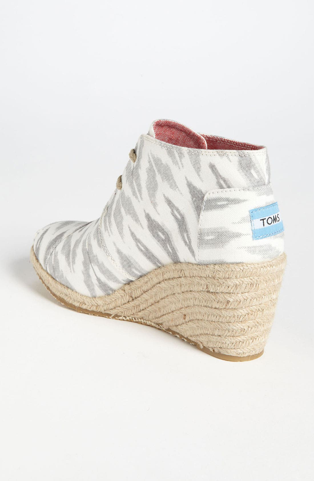 Alternate Image 2  - TOMS 'Desert - Ikat' Wedge Bootie