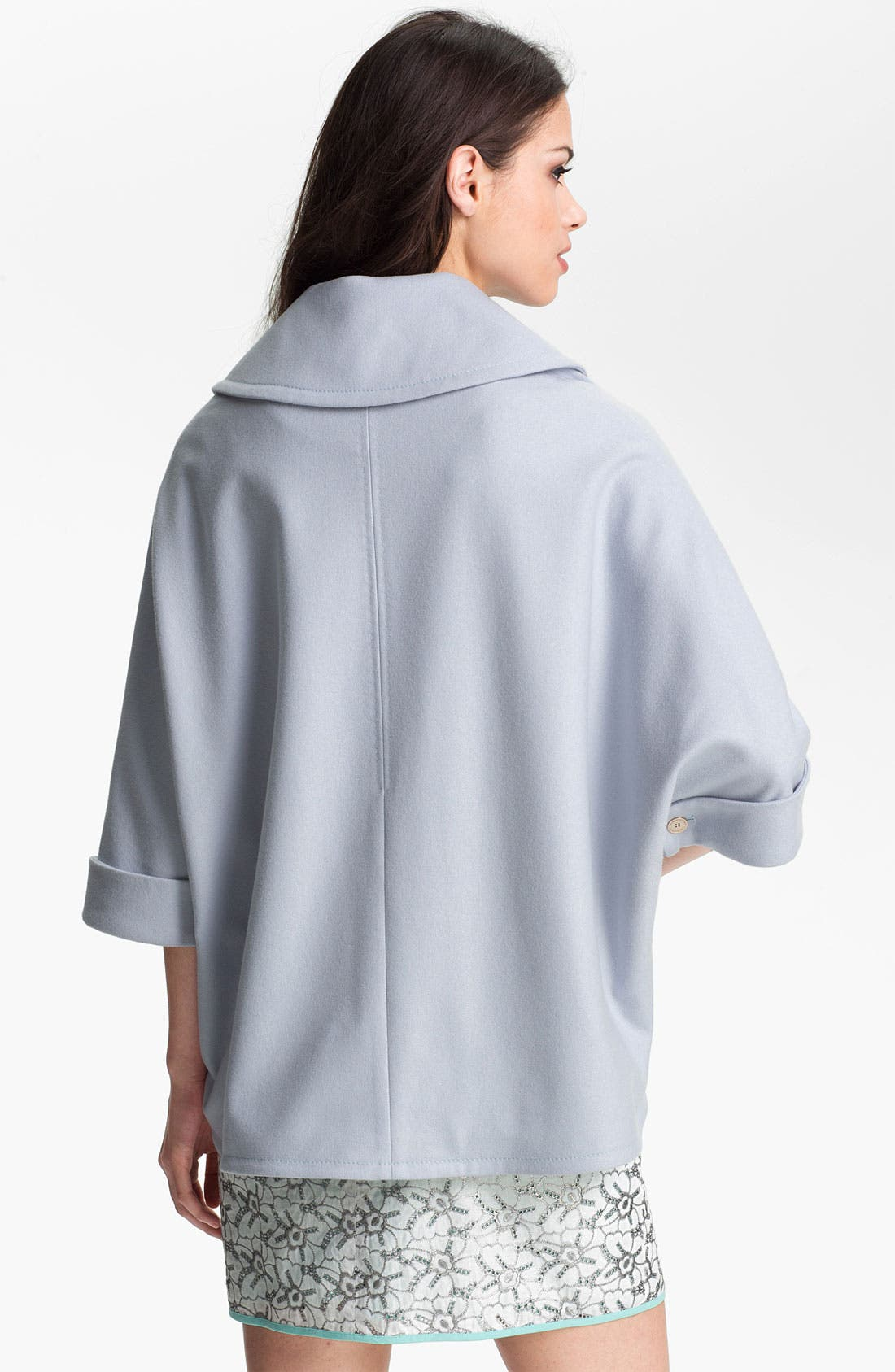 Alternate Image 2  - Ted Baker London Double Breasted Cape (Online Only)