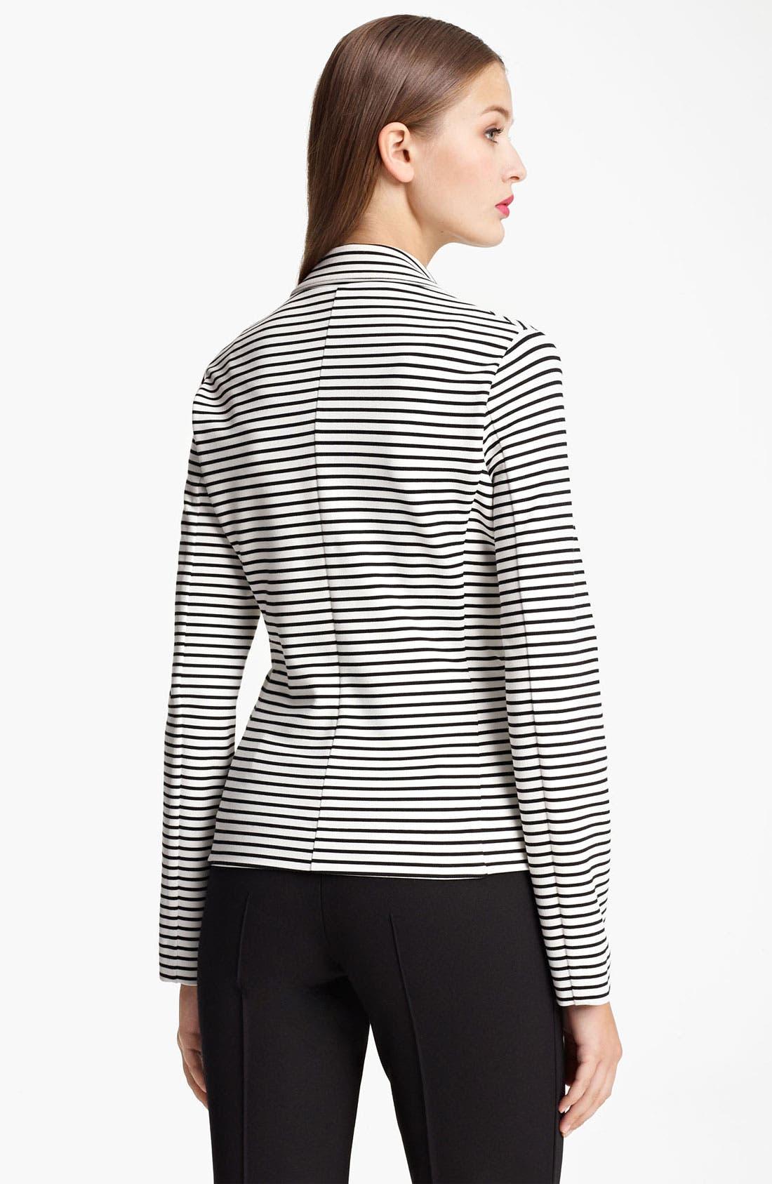 Alternate Image 2  - Moschino Cheap & Chic Stripe Jersey Jacket