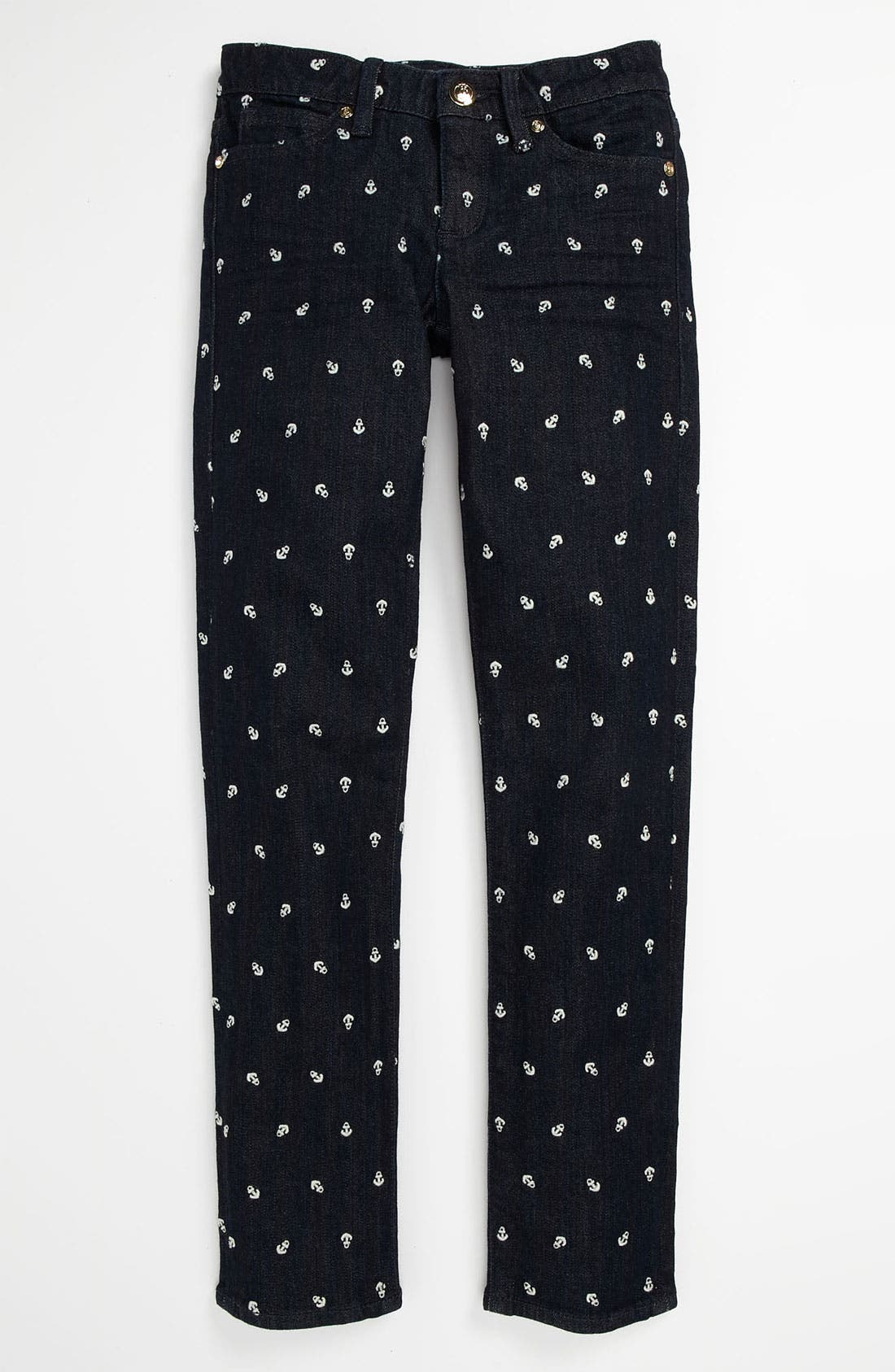 Alternate Image 2  - Juicy Couture Skinny Jeans (Little Girls & Big Girls)